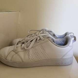 adidas neo triple white uk 37.5