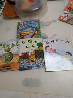 光鹽幼兒系列,低班教科書,故事書