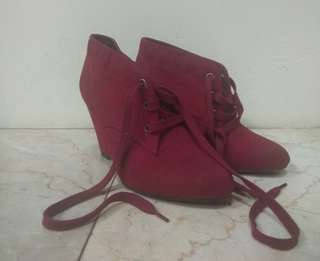 Ankle wedges boots mark & spencer