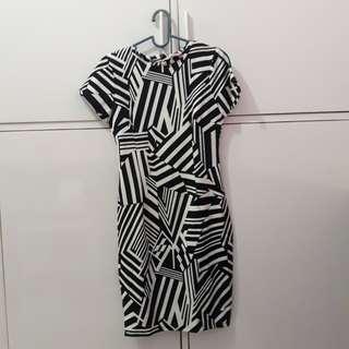 Dress Stripe Body Fit