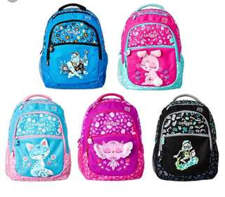 Smiggle into the woods backpack