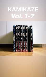 KAMIKAZE Vol.1-7 (complete set)