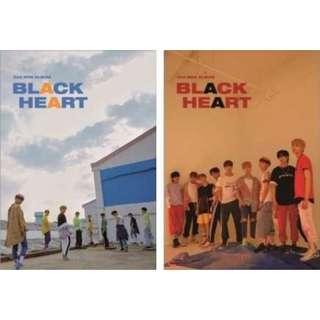 [PRE-ORDER] UNB BLACK HEART ALBUM