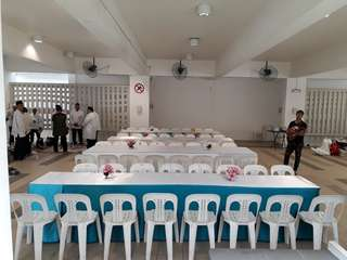 Mini Event Setup Chair N Table For Rental