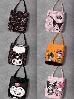 日本Kuromi 購物袋共14款、2個size 選擇📮包郵