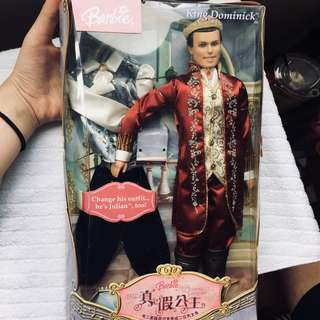 "Barbie: ""The Princess and the Pauper"" Price Dominick Doll"