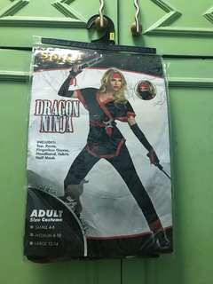 Dragon Ninja Costume for Ladies
