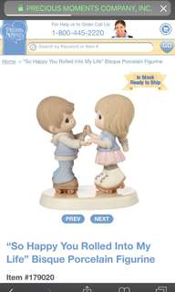 "Precious Moments ""So Happy You Rolled Into My Life"" Figurine"
