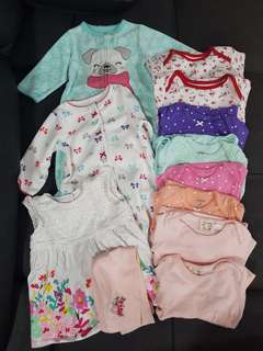 Bundle of 3 to 6 months clothes