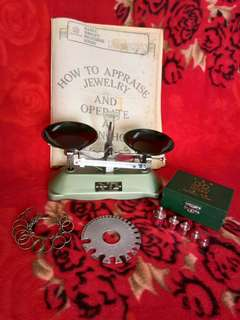 Vintage Weighing Scale,etc.