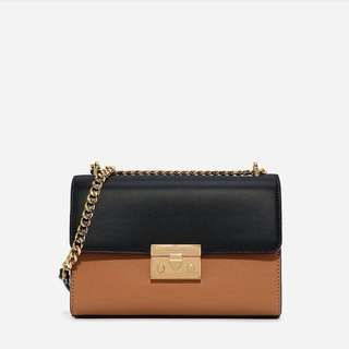 Charles & Keith Twotone chain strap