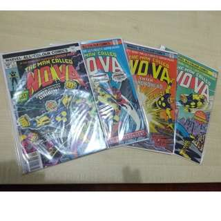 Complete Run of Nova Vol. 1 (Issues #1-25), with 4 bonus duplicates!