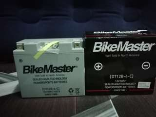 BikeMaster battery 12v10Ah