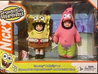 Barbie - Tommy & Kelly as Sponge Bob Square Pants and Patrick Star Dolls (2004)