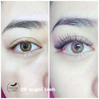 20% off eyelash extensions for first time customers