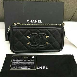 Bnew Chanel Filigree woc