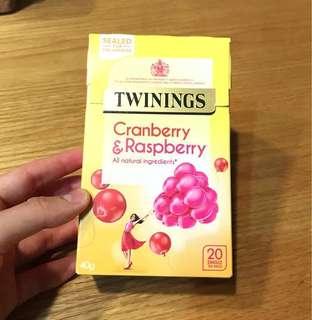 🚚 英國帶回Twinings 唐寧紅莓+山莓茶包 (20茶包)#畢業一百元出清