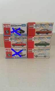 Tomica Cars (various)