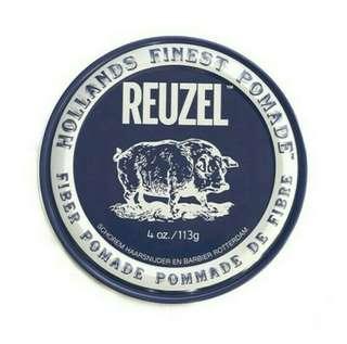 🚚 REUZEL FIBER POMADE 黑豬油 低光澤髮蠟/1瓶/4Oz/113g-公司正貨