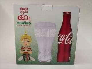 Coca cola泰國可口可樂40周年紀念禮盒