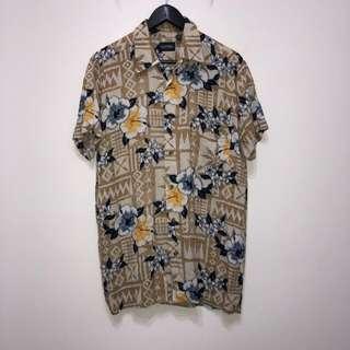 伏見古著 夏威夷襯衫 花襯衫 復古 vintage