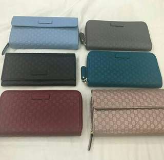 Bnew Gucci wallets