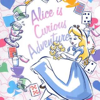 Alice in Wonderland 愛麗絲夢遊仙境 A4 File
