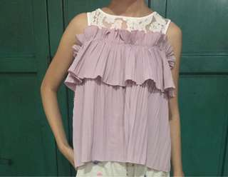 Truffle blouse