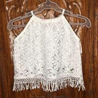 Lace Crop top.