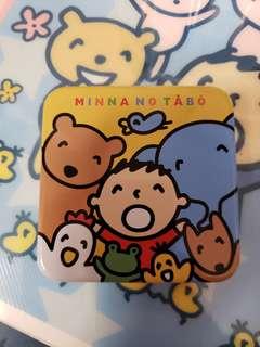 Sanrio 大口仔鐵盒連貼紙 (包平郵)