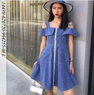 韓系洋裝ML