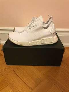 Adidas NMD Triple White W/ Gum Sole