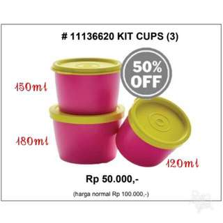 Snack cup tupperware saleee