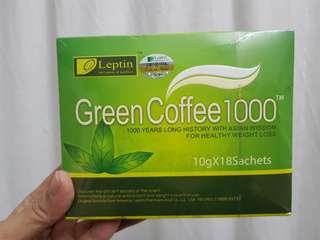 Green coffee 1000 to let go