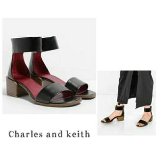 Charles & Keith Strap Shoes