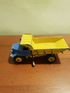 Vintage Dinky Supertoys dump truck made in England