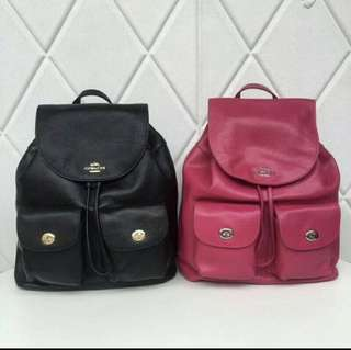 Original Coach women backpack sling bag casual bag