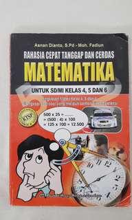 Rahasia Cepat Tanggap dan Cerdas Matematika SD