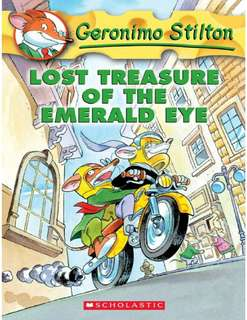 (BN) Geronimo Stilton #1 Lost Treasure of the Emerald Eye