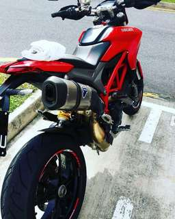 Ducati hypermotard 821 (fairing/coverset) for sale.