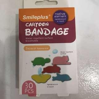 Cartoon Bandage/Plasters