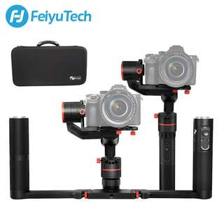 Feiyu Tech a2000 3-Axis Dual Handheld Kit for DSLR Cameras