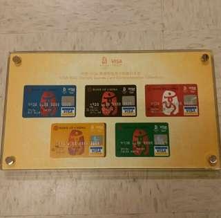 2008年奧運信用卡套裝