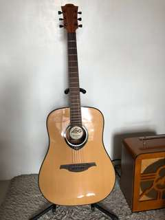 LAG Tramontane TL66D left handed acoustic guitar