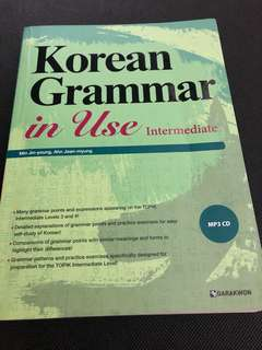 Darakwon Korean Grammar Intermediate