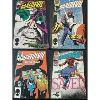 Daredevil #228-#237