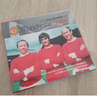 The Treasures Of Manchester United Collectables - Out Of Print