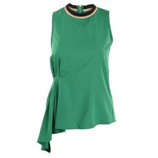 PP| Blouse Sleeveless, Green
