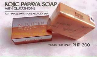 Whitening, oily and for acneSoap Kojic Soap ❤️