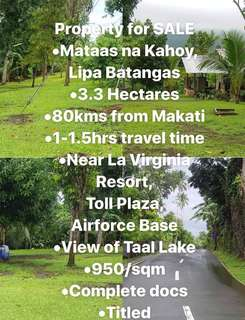 Lot for Sale in Batangas